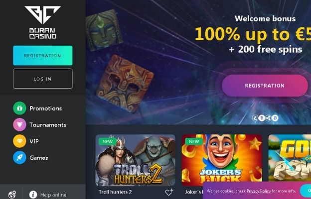 cryptocurrency buran casino