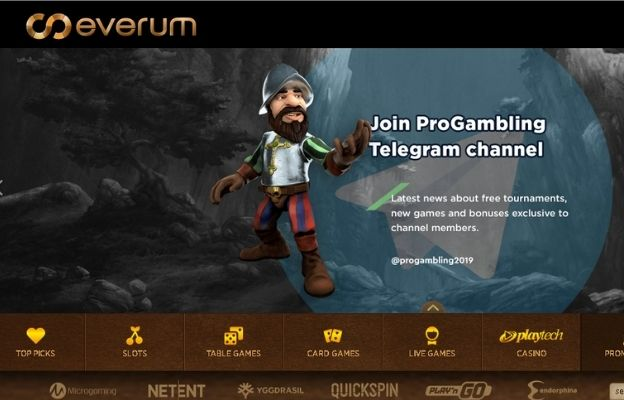 cryptocurrency everum casino